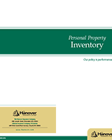Hanover Personal Property Inventory
