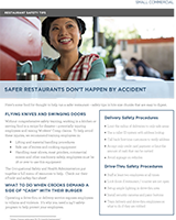 Hartford Loss Controls Safety Tips Restaurants